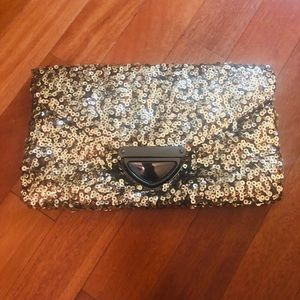 Style&Co Sequin Envelope Clutch